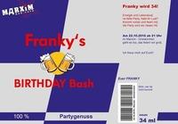 Franky's BIRTHDAY Bash