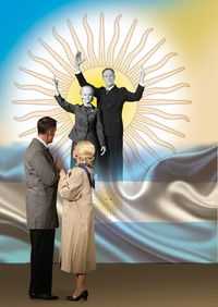 Eva und Juan Perón - eine Romanze der Macht@Freie Bühne Wieden