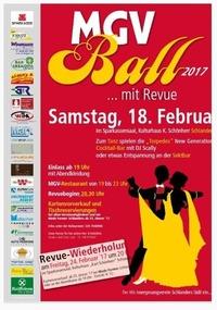 MGV -Gala mit Revue