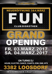 Grand Opening - Club Diskothek Fun
