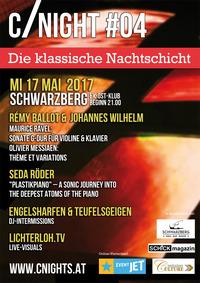 CNIGHT#04 - Die klassische Nachtschicht im SCHWARZBERG Wien