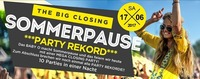 Sommerpause – the Big Closing – Party Rekord!
