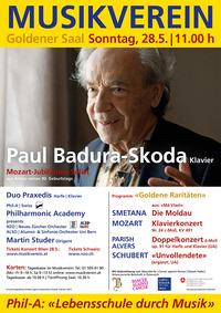 """""""Goldene Raritäten"""" Jubiläumskonzert mit Paul Badura-Skoda"""