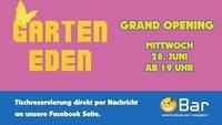 ►► Garten Eden - Grand Opening ◄ ◄