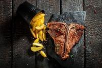 Steak für zwei im Huth da Moritz