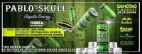 Pablo Skull Tequila Energy - Tequila, nur halt Geiler!