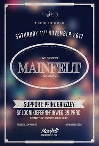 MAINFELT live im Saloon // Countrystadt Prad