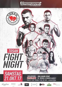 TOSAN FIGHT NIGHT – October 21st 2017