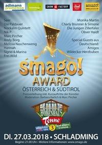 Smago! Award Austria & Südtirol in der Tenne Schladming@Hohenhaus Tenne