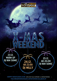 Salzbar X-Mas Party/DJ Willy