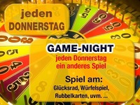 Jeden Donnerstag – Game-Night