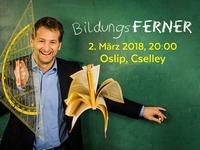 Kabarettprogramm BildungsFERNER