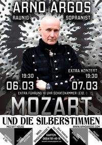 Mozart und die Silberstimmen - Solokonzert mit Arno Argos Raunig