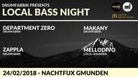 Drumfabrik pres.: LOCAL BASS NIGHT (Deep/Liquid/Neuro)