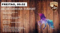 Be on Einhorn tonight