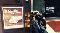 Carl Otter im Café Carina@Café Carina