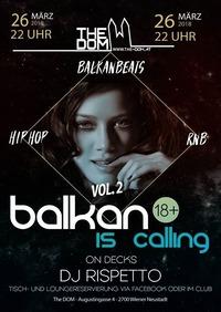 Balkan is Calling Vol2 // 24.3. // The Dom