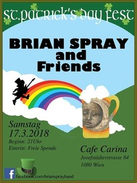 Brian Spray and Friends@Café Carina