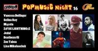 Popmusic Night 16 - Do 29.3. Cafe Carina