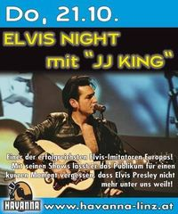 "Elvis Night mit ""JJ King"""