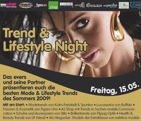 Trend & Lifestyle Night